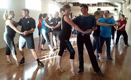 Salsa dance class in Christchurch