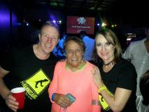 Donna and Warren with Salsa Rae