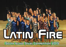 South Island Salsa Competition 2015 - Ladies Youth Shine Group Ending