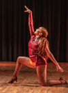 natasha frost salsa latin dance class perform fire contemporary jazz